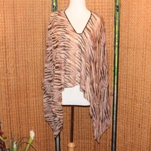 New One Size Animal Print Swimsuit Cover up
